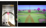 矢をひっぱって、GamePadで狙いを定めて撃て!の画像