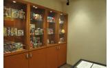 サイバーコネクトツーの会議室に飾れている『.hack』関連作品の画像