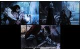 おもな操作キャラクターはこの3人。左から、シモン。アルカード。トレバー。の画像