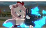 『NARUTO-ナルト- 疾風伝 ナルティメットストーム3』キティちゃんとコラボ!キティ耳のサクラが可愛いすぎるの画像