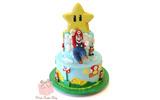 Super Mario Bros Cakeの画像