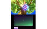 木の周りを飛び回る妖怪を発見の画像