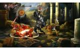 「ファイター」は頑丈な盾を装備した戦いのエキスパートの画像