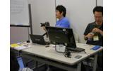 SCEチームが持参した開発環境の画像