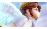 「スマブラ3DS・WiiU」初登場映像より、ピットの勇姿の画像