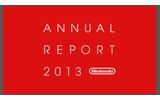 「任天堂 2013年 アニュアルレポート」の画像