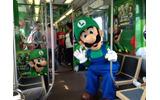 ルイージがシカゴの街を走る電車をジャック!Wii U『New スーパールイージU』発売記念での画像