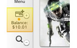 左メニューの「Balance」から残高追加が可能の画像