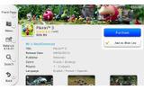 こちらは『ピクミン3』の購入画面。有料ですので「Download」のかわりに「Purchase」と表示されています。の画像