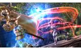 赤い光をまとった剣を振るう「ジークフリート」の画像