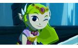 歴代でもかなりおてんばな、本作のゼルダ姫の画像