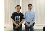 IGDA日本の戸崎氏と大澤氏の画像