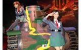 ブースには九五式軽戦車『ハ号』が!の画像