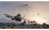 戦闘機で空中戦を楽しむこともの画像