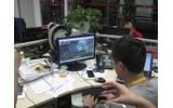 ブラウザゲーム開発風景の画像