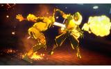 炎攻撃を受けると体が炎上し、バッドステータスが課せられるの画像