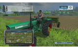 農機の操縦と農地の世話がゲームのメインの画像