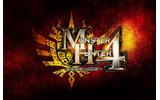 『モンスターハンター4』タイトルロゴの画像