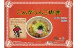 こんがりんご肉丼の画像