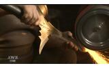 まさに鋼の鍛冶職人!今度は「ハガレン」の主人公・エドの錬成槍を製作の画像