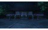 どこか恐ろしげな神社の風景の画像