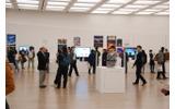 文化庁メディア芸術祭展示風景の画像