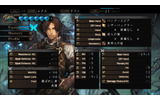 キャラクターのステータス画面。HPとは別に左上に表示された青いハートは一体!?の画像