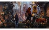"""にぎわいを見せる、極夜の街""""エスカリオ""""内の市場。希少な「魔石」を求め、様々な人々がこの地を訪れる。の画像"""