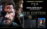 『MGSV GZ』同梱のPS4オリジナルデザイン本体「FOX EDITION」が発売決定!の画像