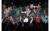 イベントの様子はニコ生で中継され、360度LEDにコメントが表示されましたの画像