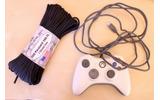 まるでお散歩ゲームをプレイしているみたい?古いXbox 360コントローラーで犬の巻き取り式リードを製作の画像