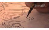 「ロマンシング 佐賀LOUNGE」で展示される小林智美氏直筆の有田焼、その制作風景を映像で公開の画像
