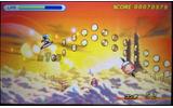 敵に接触してしまうと画面上に表示されたライフゲージが減少し、ゲージがゼロになるとゲームオーバーの画像