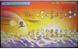 キャラクターを操り、高速で飛行しながらアイテムを集めるステージクリア型のハイスピードアクションゲームの画像