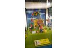 展示されている「スーパーマリオ フルアクションフィギュア」の様子の画像
