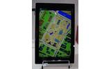 地図アプリをロールプレイングゲーム風に表示する『RPG風エンタメマップ。』の画像
