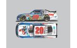 『マリオカート8』のラッピングを施したレースカーがNASCARに出場の画像