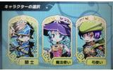 特性の異なる3キャラクターから選択の画像