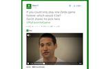 Xbox公式ツイッターがなぜか『ゼルダの伝説』についてツイート ― 一番のお気に入りを社員が語る動画もの画像