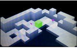 3DSの立体視に対応したグラフィックも視認性が高く、ステージの複雑なギミックも配置が分かりやすくなったの画像
