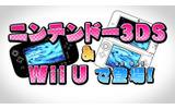 Wii Uと3DSで発売。気になるゲーム内容は…?の画像
