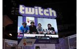 E3 2014のTwitchブースの様子。多数の番組が現地から配信されていたの画像
