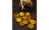 """『ドラゴンズクラウン』お供の妖精「ティキ」が""""実物大""""フィギュアに、付属のコインや革袋も1/1の画像"""