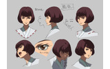 設定画「鶴姫」(表情)の画像