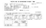 バンダイナムコホールディングス 平成27年3月期第1四半期決算スクリーンショットの画像