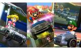 『マリオカート8』8月27日の更新データで、テレビ画面にマップを表示可能に!ベンツ3種類も追加の画像