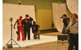 プロの機材を使ったコスプレイヤー向けの撮影会場の画像