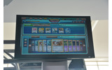 iPadの画面をモニターに映したものの画像