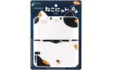 3DS LLがネコに変身!「シリコンカバー ねこにゃん DX」発売 ― とら、はち、ミケ、どの柄のネコがお好み?の画像