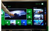 「エックスボックス、音声モード」で、音声コマンドに対応した機能やアプリの表示が緑色にの画像